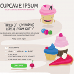 Cupcake Lorem Ipsum found on Pinterest