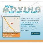 Email : We're Moving