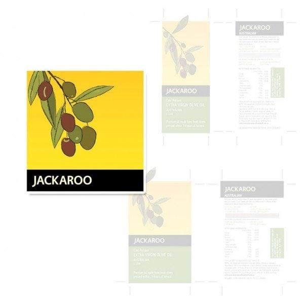 Jackaroo branding and packaging