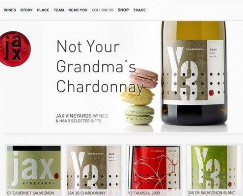 JAX Vineyards Storefront