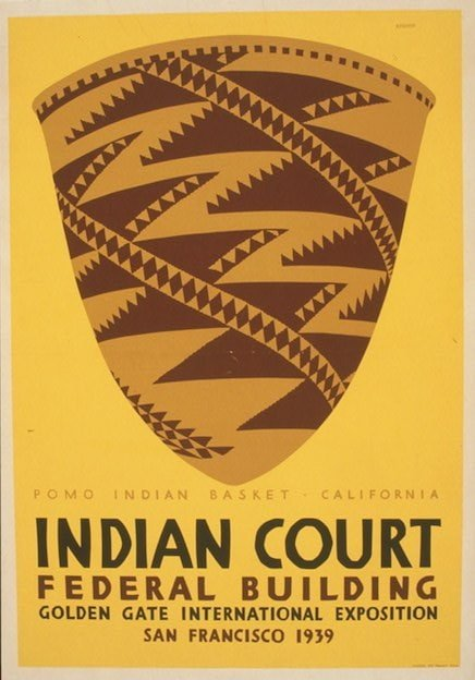 WPA Poster printed in San Francisco