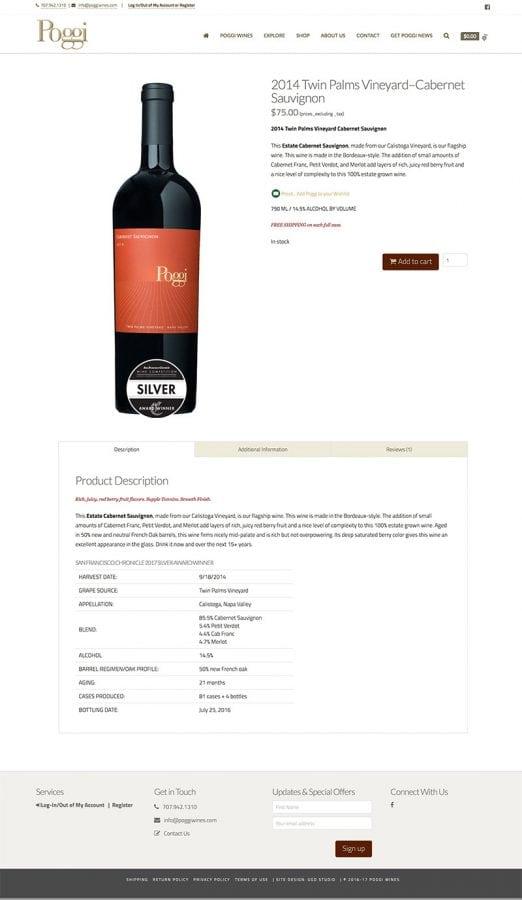 Wine Spec
