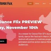 Kids Dance Flix, SF / WP Design & Dev