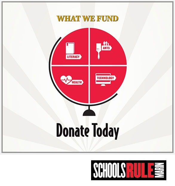 Schools Rule Marin Donations